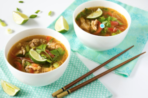 Chicken Asian Soup Broth