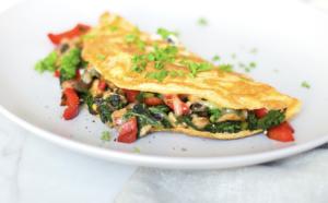 Breakky Vege Omelette