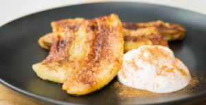 Cinnamon Fried Banana